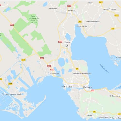 Taxi à Istres dans les Bouches du Rhône a la demande